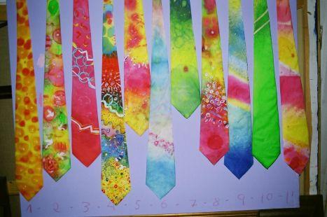 Corbatas diseñadas por Hidalgo