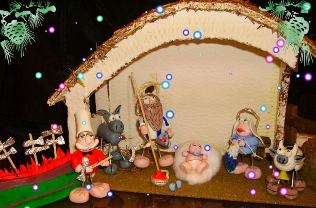 Portal de belen malague o fotos de navidad - Portal de belen pinypon ...