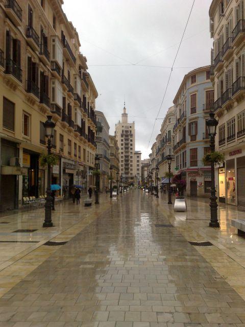 Soledad y lluvia