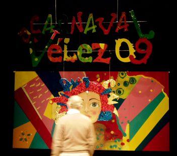 Escenario de los Carnavales de Vèlez .