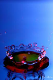 Gotas de agua.