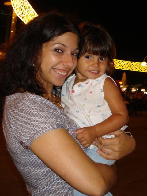 Ana y Nisha ( primera Feria juntas,madre e hija)