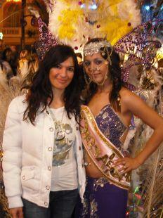 Merche Lopez en los carnavales