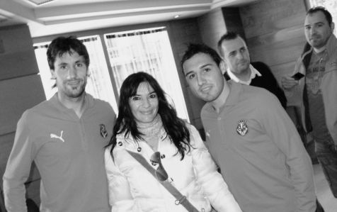 foto con  Capdevilla y Cazorla