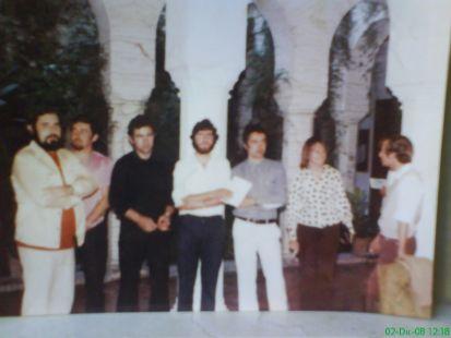 En el museo de Màlaga  1973, pintores de Vèlez.