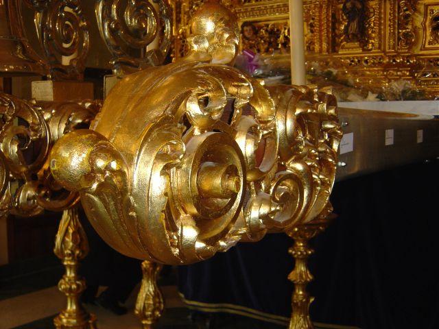 Cabeza de varal Virgen de la Concepcion