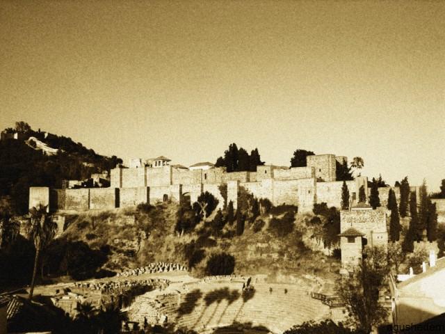 Alcazaba desde torre de san agust n fotos de m laga capital - Herreros en malaga ...