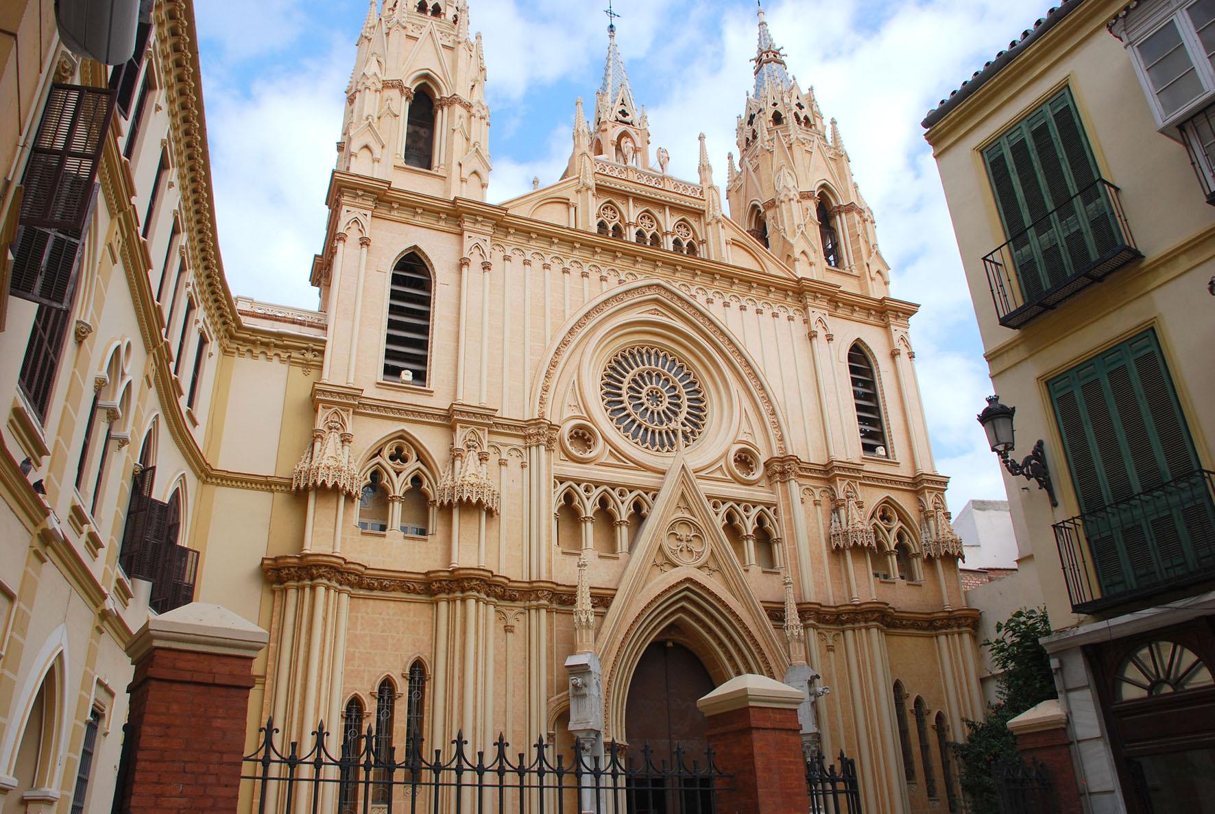 Resultado de imagen de iglesia de san pablo de malaga