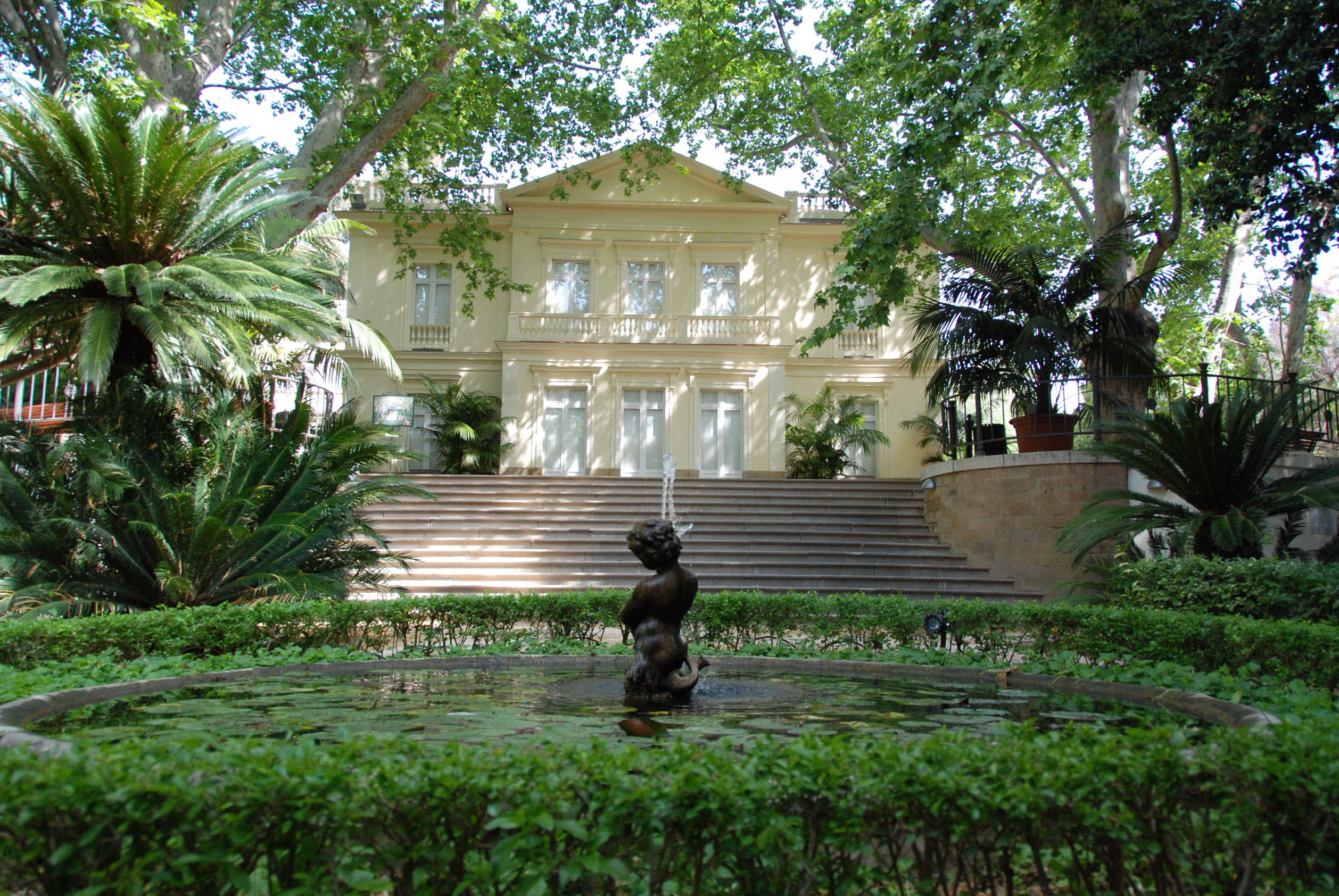 Casa en el jardin botanico fotos de m laga capital for Jardin botanico de malaga