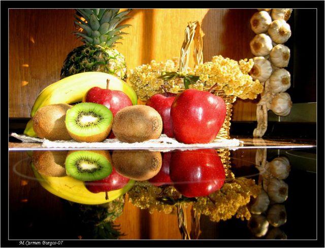 Dibujos de fruteros con frutas - Imagui