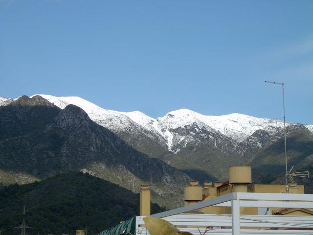 sierra blanca en Marbella con Nieve