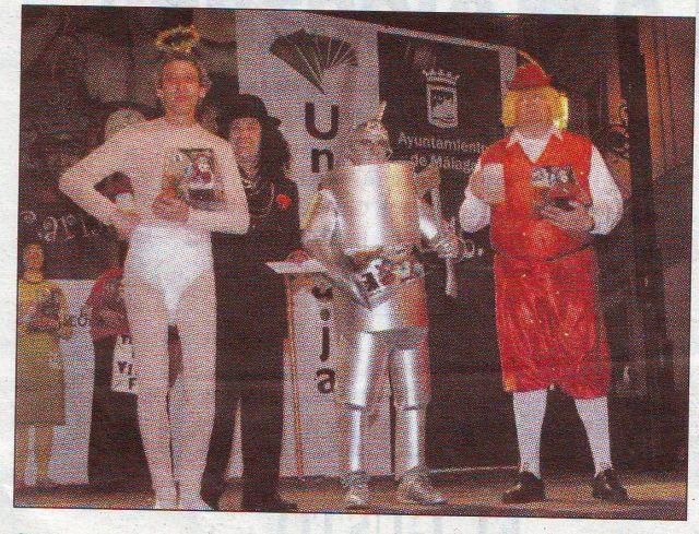 1 er. Concurso de Disfraces de Adultos en C Larios
