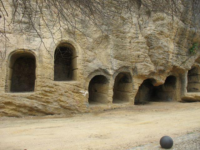 tumbas cristianas en Riofrio