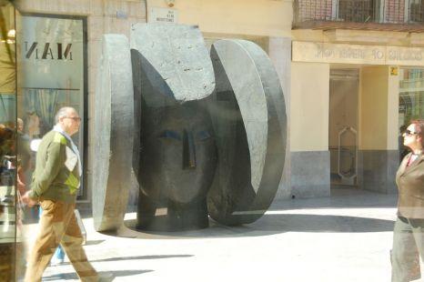 reflejos del arte en la calle