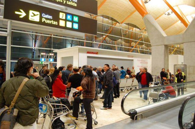 huelga encubierta en Iberia
