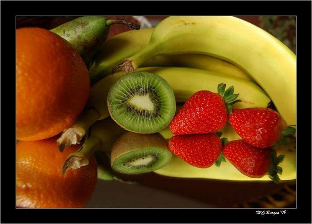 Frutas Naturales y sus Reflejos