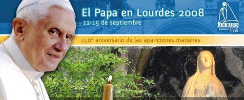 VISITA DE SU S.S.  SANTUARIO DE LOURDES ////////////// QUIQUE EL EMIGRANTE /////////////