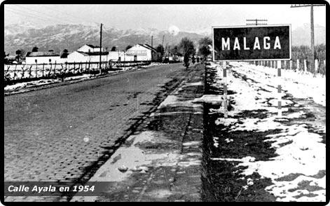 Malaga nieve 1954 fotos de m laga capital - Fotos malaga capital ...