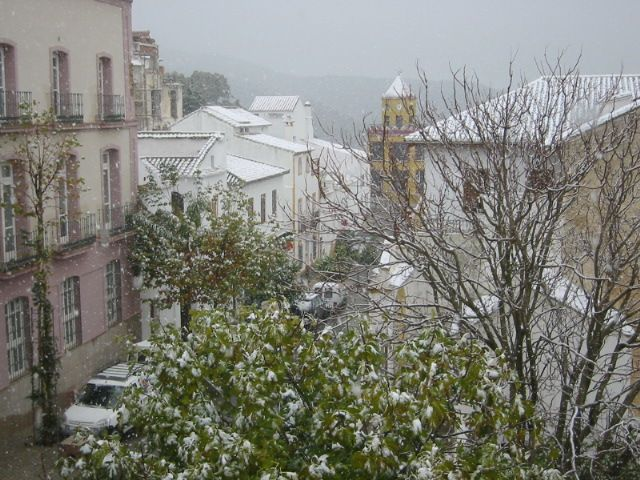 Nieve en Carratraca
