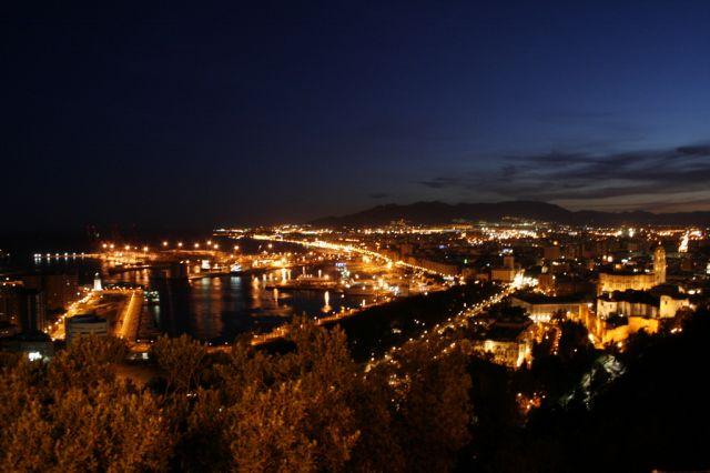 Malaga iluminada fotos de m laga capital - Fotos malaga capital ...