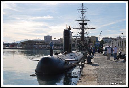 Un submarino en Málaga