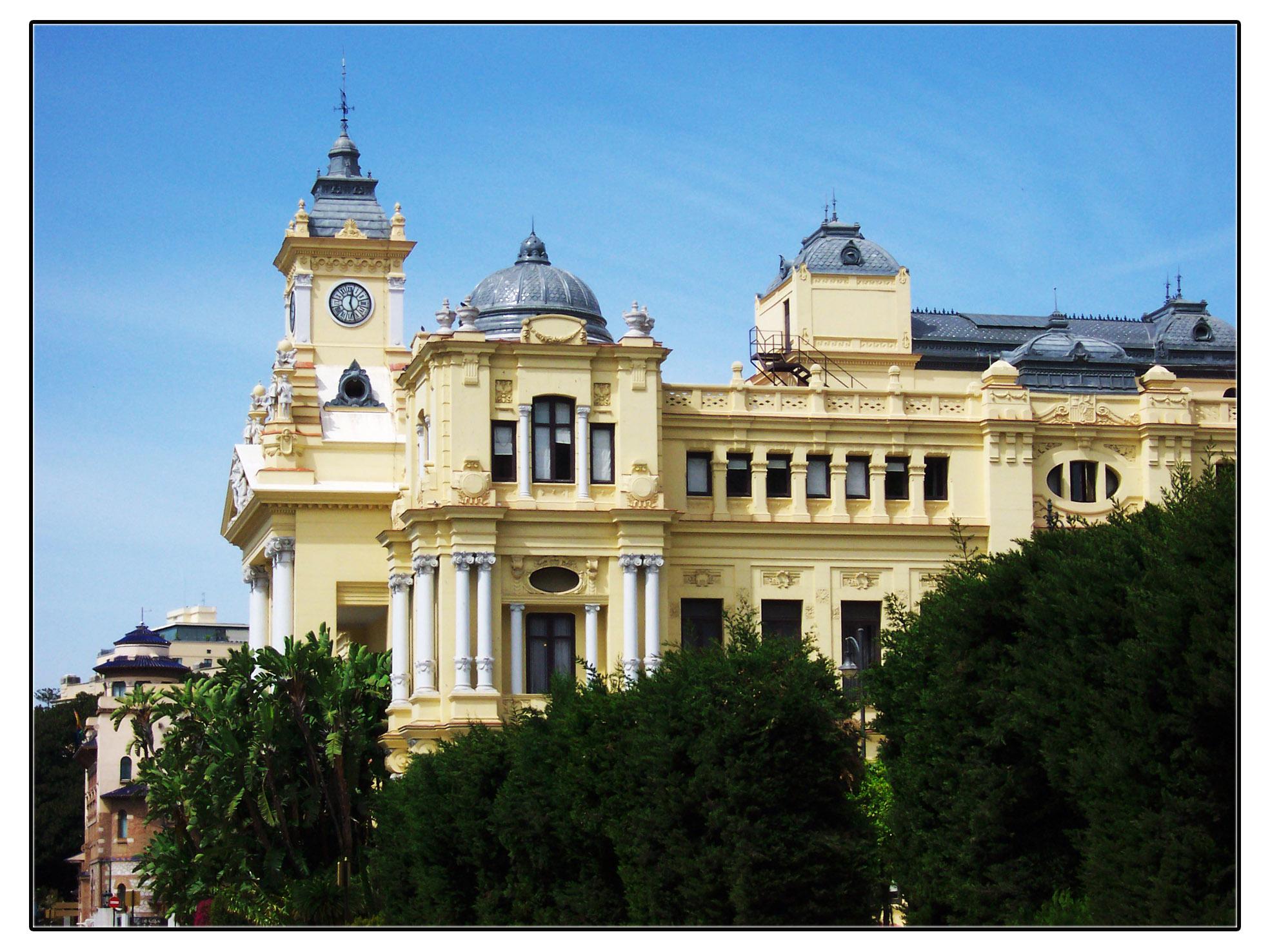 Ayuntamiento de m laga fotos de m laga capital - Fotos malaga capital ...