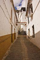 Las empinadas callejuelas de Benaoján
