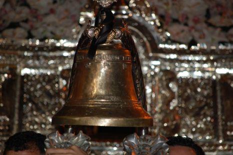 Campana del trono de María Santísima de la Paz