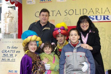 José María, Marisol, Sergio y Paola