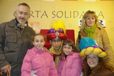 Francisco Javier, Alba, Lucía y Ana Mari