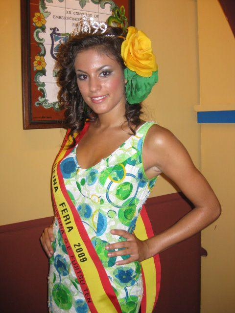 Conchi Santiago, Reina de la Asoc. Pastoral Amigos de Santa Cristina