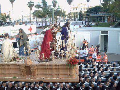 Sto Cristo de la Soledad de la Cofradia del Dulce Nombre Domingo de Ramos 2008