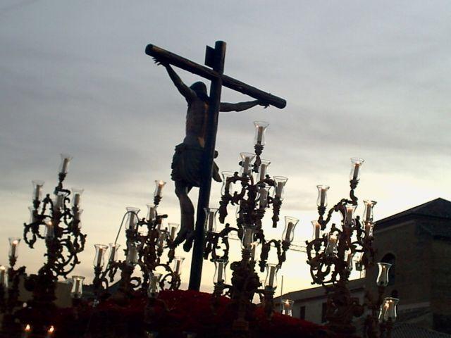 Stmo Cristo de la Esperanza en su Gran Amor Domingo de Ramos 2008