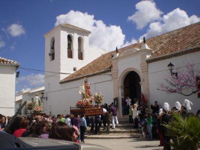 Domingo de resurrección en El Burgo