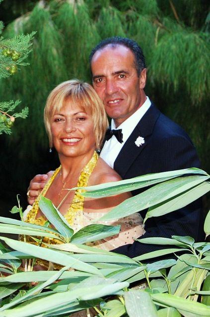 Boda de Antonio y Betty