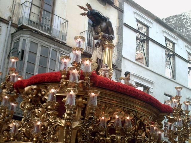 Nuestro Padre Jesus de la Columna Lunes santo 2008