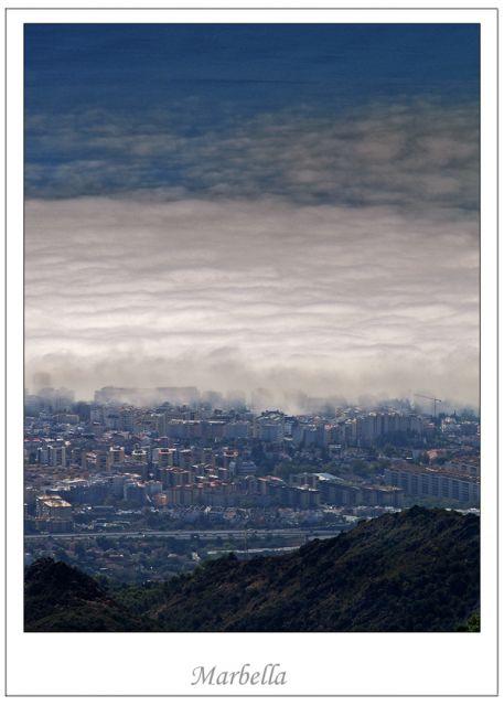 La niebla que llega...