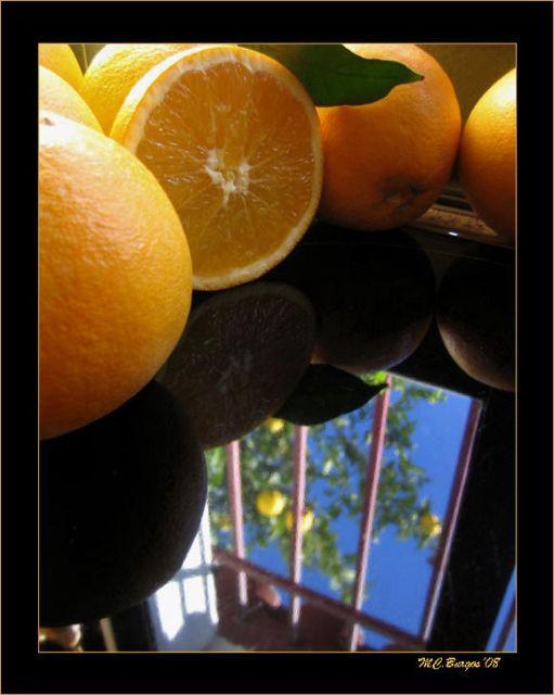 -Naranjas en el Árbol y en la Cocina-