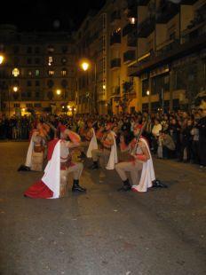 Los Regulares del Cautivo el Lunes santo Malagueño.