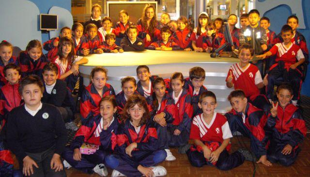 Visita a SUR del colegio Andalucía