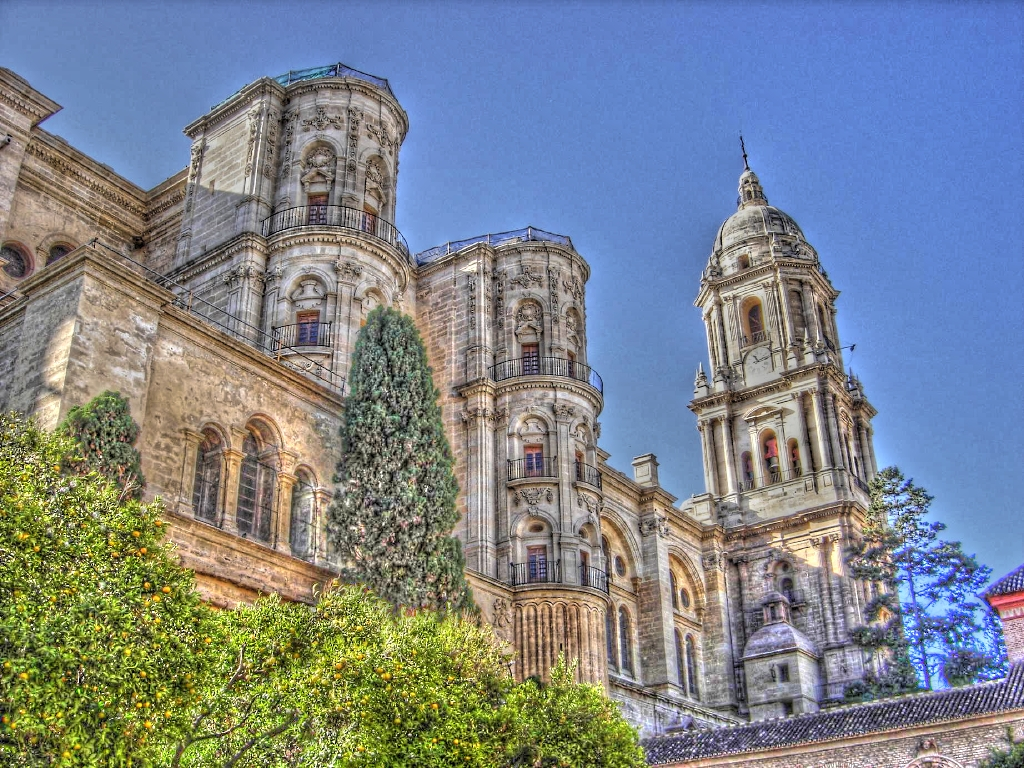 Catedral hdr fotos de m laga capital - Fotos malaga capital ...