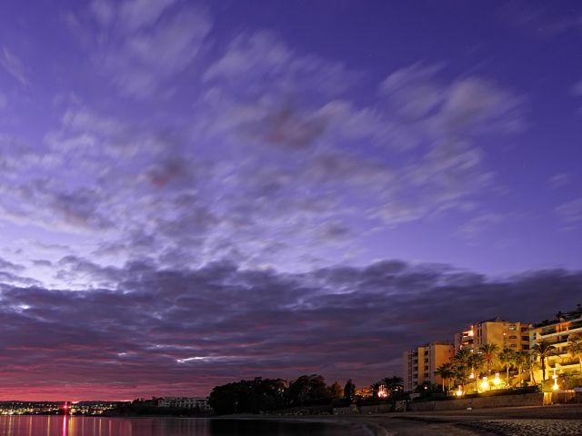 Anochecer de Nubes & Seda en Estepona..6
