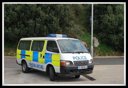 Coche Policia gibraltareña