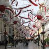 Calle Larios con decoracion navidena
