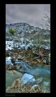 Aguas del Río Guadalhorce (INVIERNO)