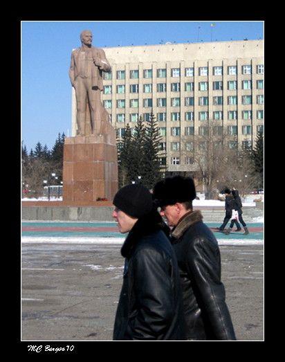 Plaza de Lenin, Chitá, Siberia