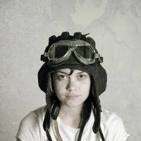La chica aviadora