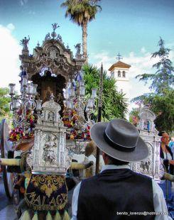 La Hermandad de Málaga parte para el Rocio