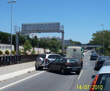 Accidente de trafico A7