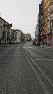 Málaga en el descanso del partido: 21:19 h